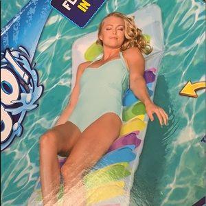 Bestway H2O Go Pool Lounge rainbow Float N roll
